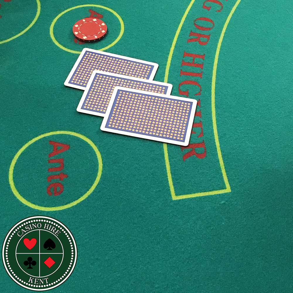 Fun Casino hire Kent Poker table